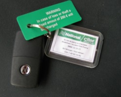Lost or Stolen Car Hire Keys