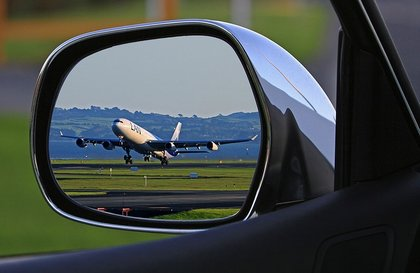 car and aeroplane