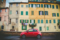 italian house and car