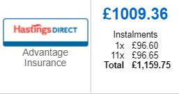 Monthly Interest Car Insurance Option