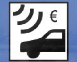 electronic toll road sign